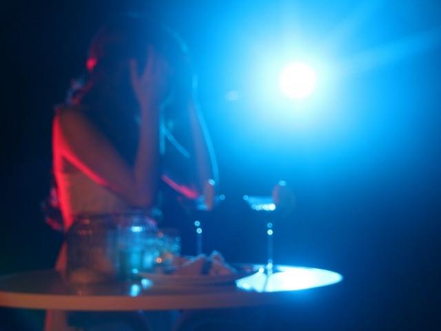 Hauptdarstellerin Hannah Buhr beim Dreh einer Außenszene